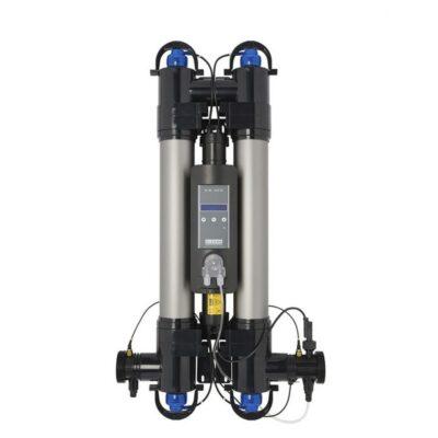 Ультрафиолетовая установка для бассейна Elecro Steriliser UV-C HRP-110-EU + DLife indicator + дозирующий насос