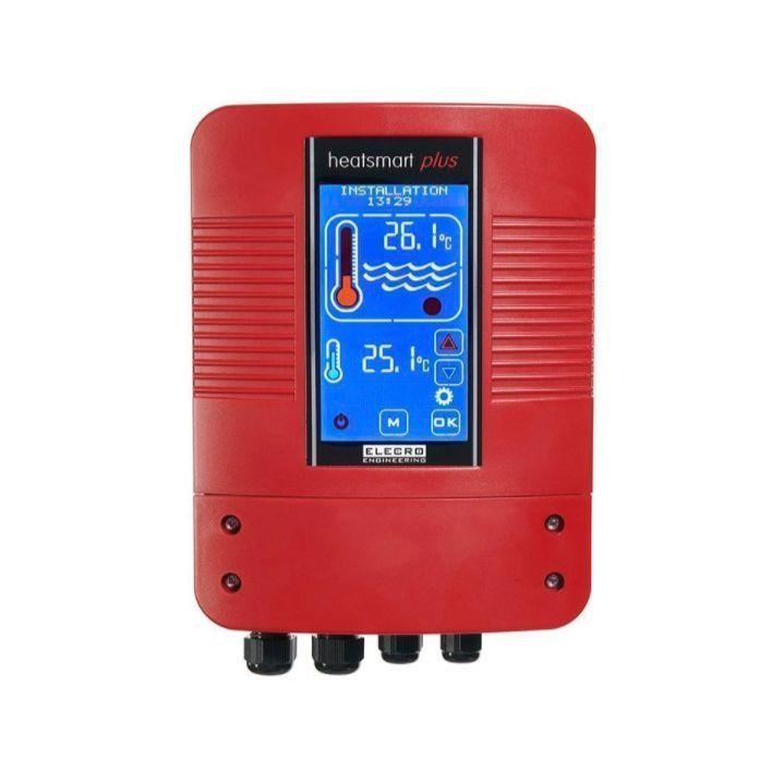 Цифровой контроллер Elecro Heatsmart Plus теплообменника G2-SST датчик потока и температуры